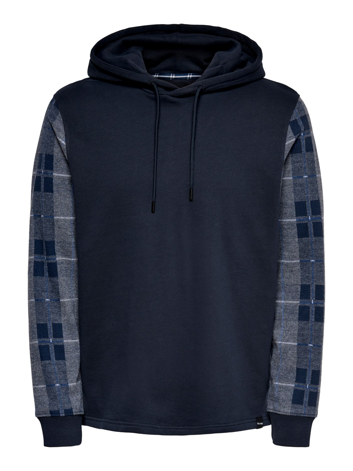 Only & Sons Onslean Check Life Hoodie Sweat