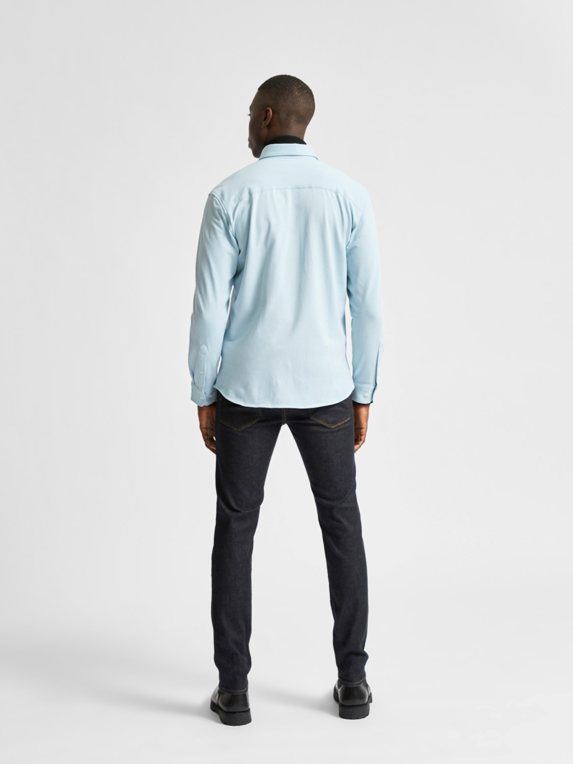 Selected SLHslimoliver Knit Shirt Noos