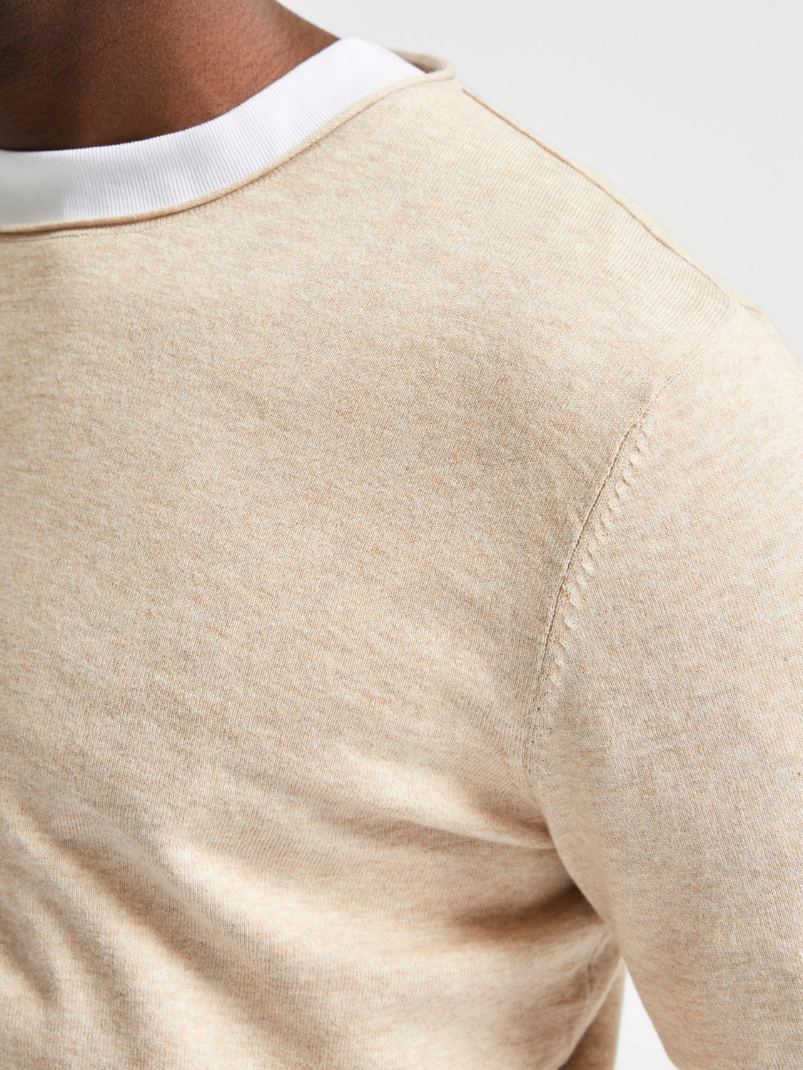 Selected SLHDome Crew Neck Noos