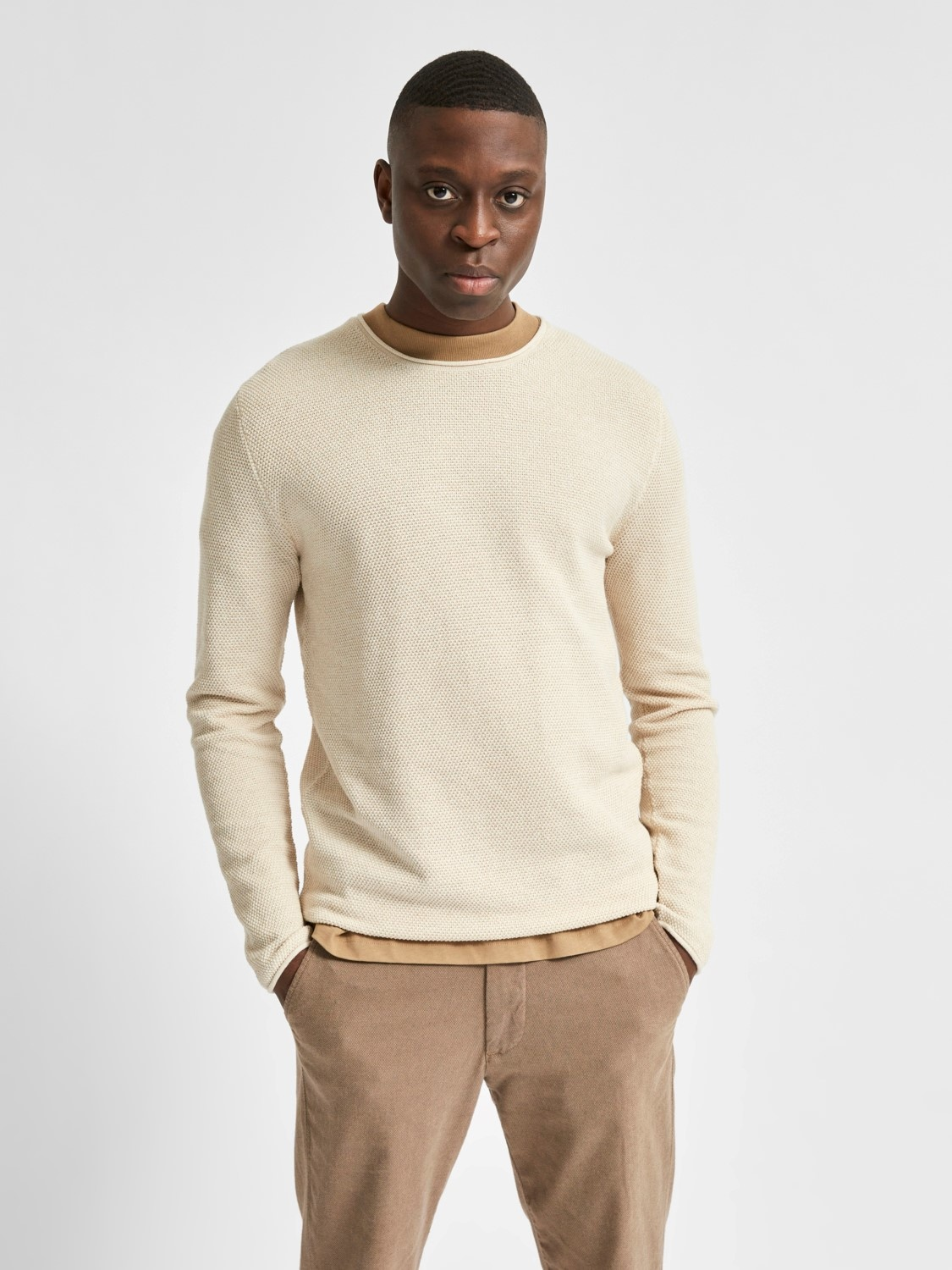 Selected SLHRocky Crew Neck Noos