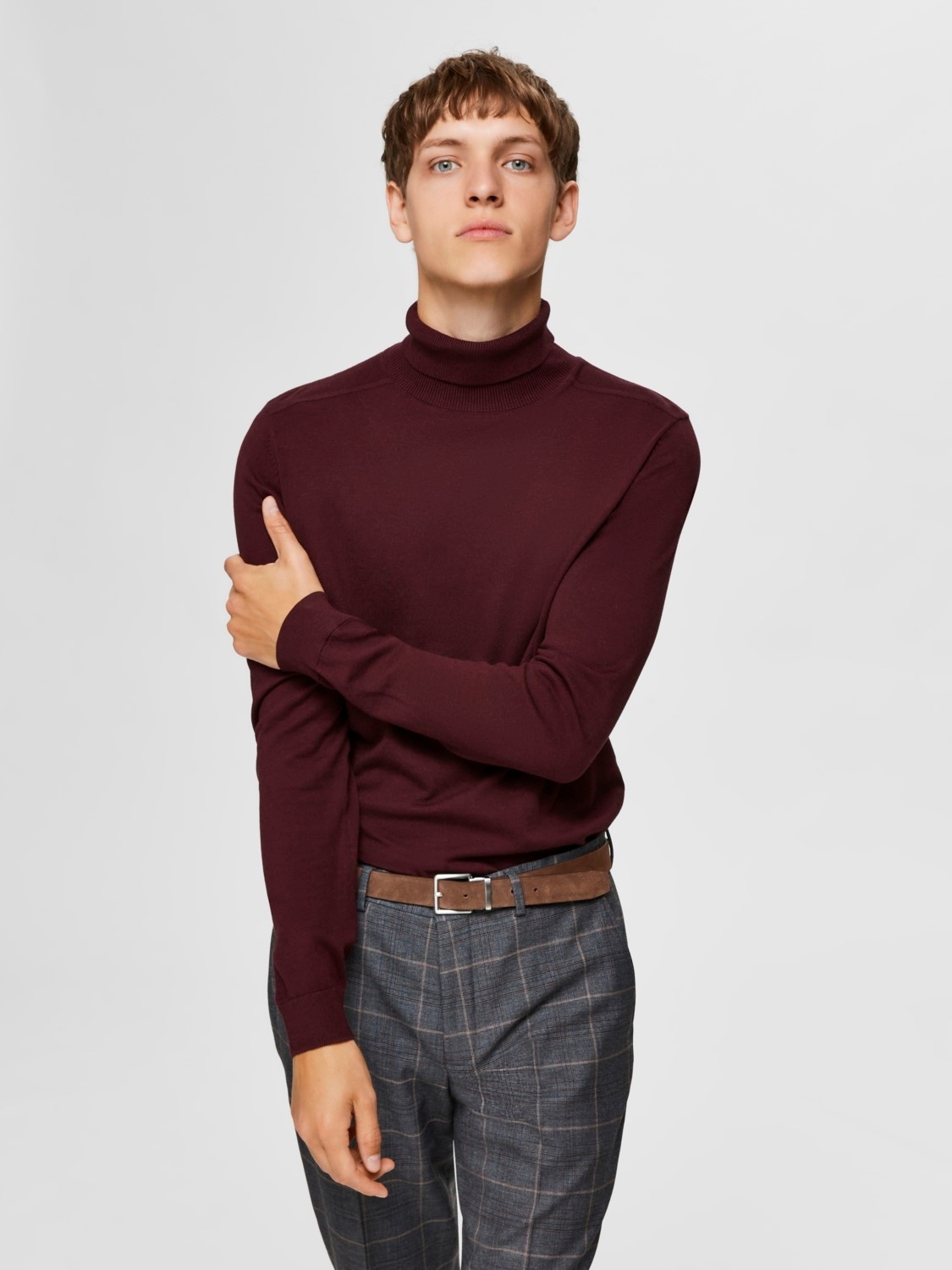 Selected SLHberg Roll Neck Noos