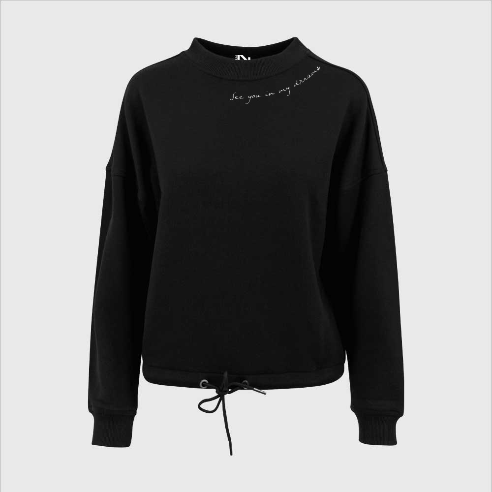 Sweater Black See You In My Dreams