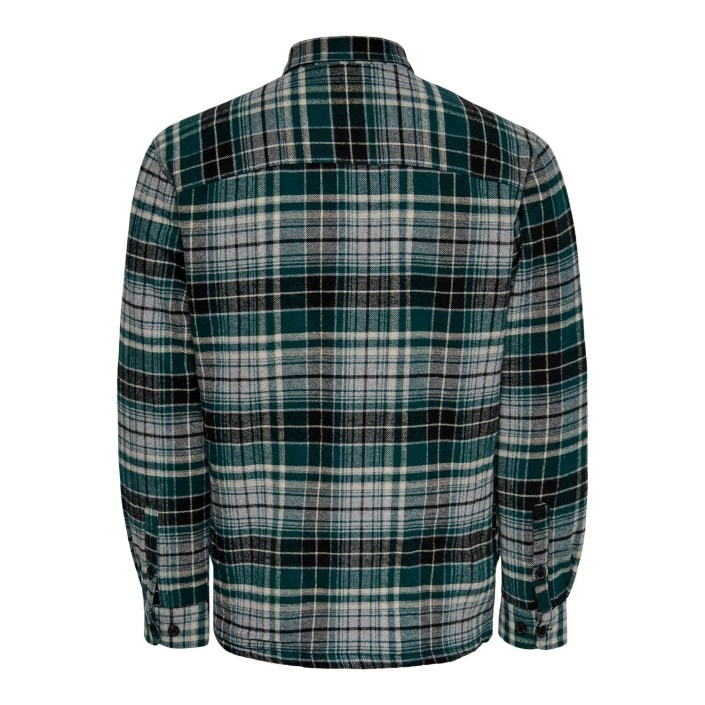 Only & Sons Onsjarred Quilted Check Jacket