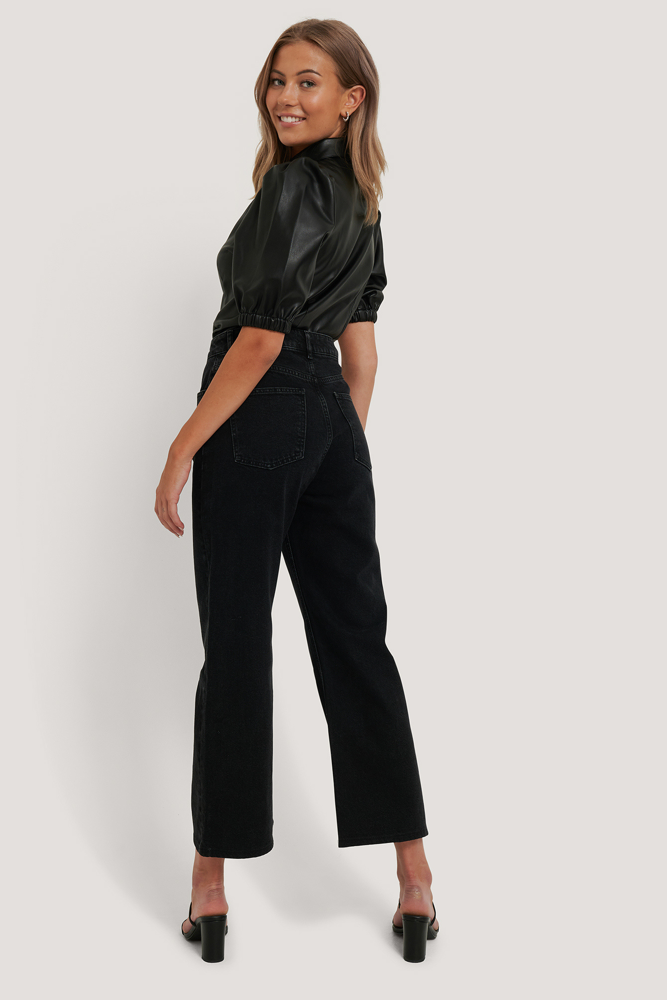 NA-KD Relaxed Full Length Jeans
