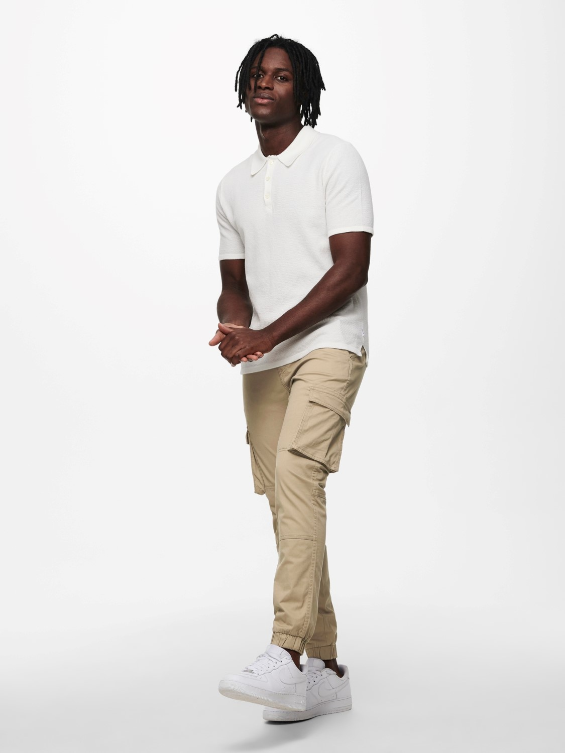 Only & Sons Onsmoose Life Polo Knit