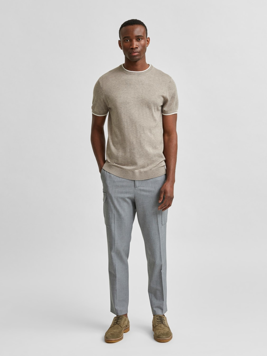 Selected SLHSlimdale Knit Crew Neck
