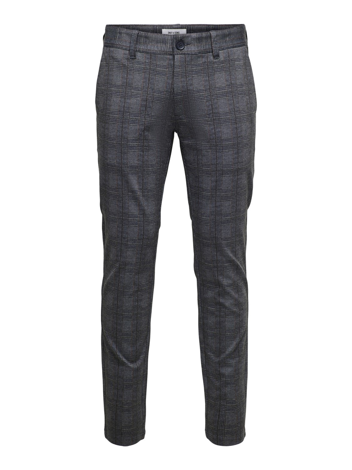 Only & Sons Onsmark Tap Pant Check 8649 Noos