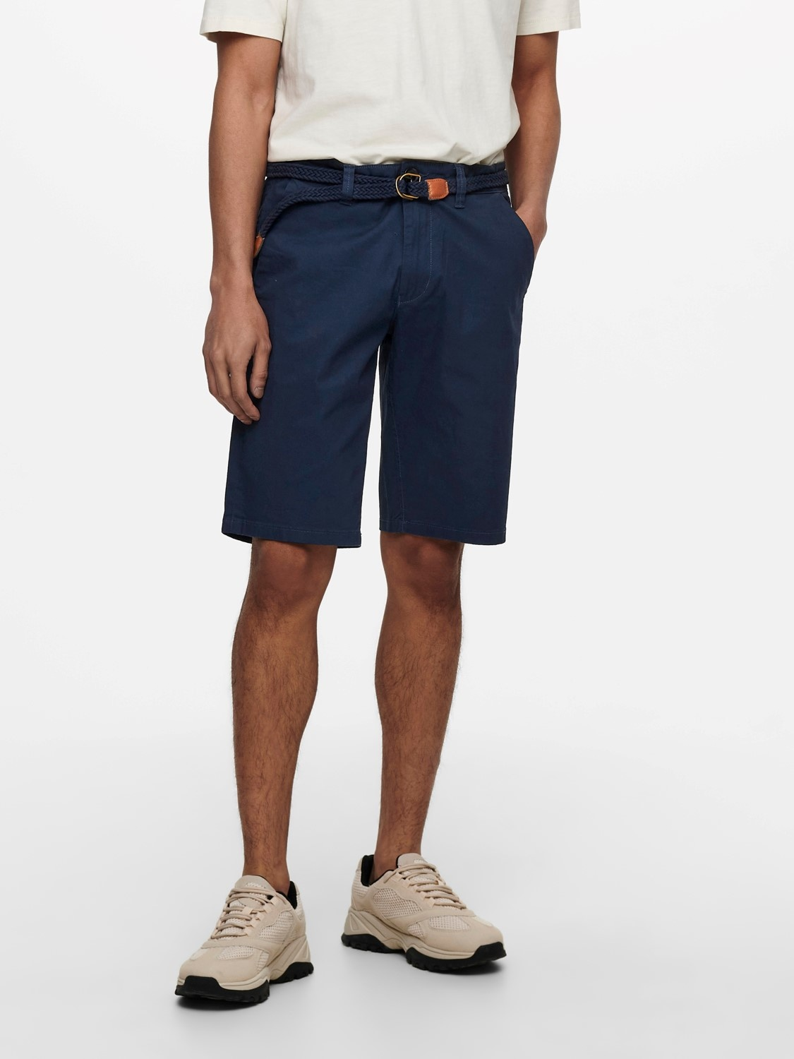 Only & Sons Onswill Chino Short Belt 8643
