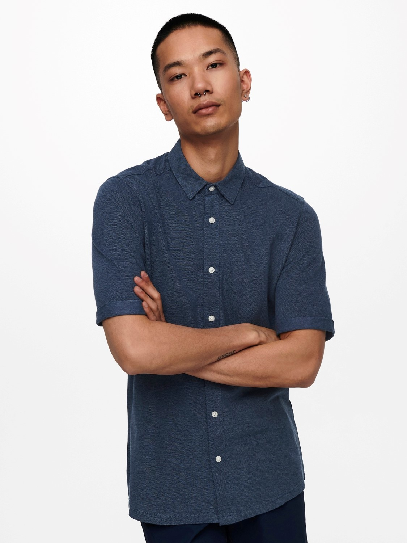 Only & Sons Onscuton Organic Pique Shirt
