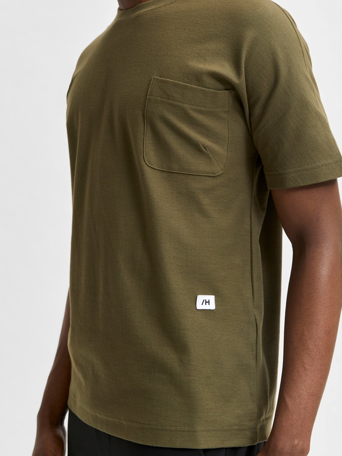 Selected SLHRelaxalbion O-Neck Tee