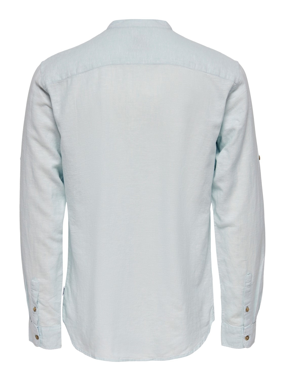 Only & Sons Onscaiden Halfplacket Linen Shirt
