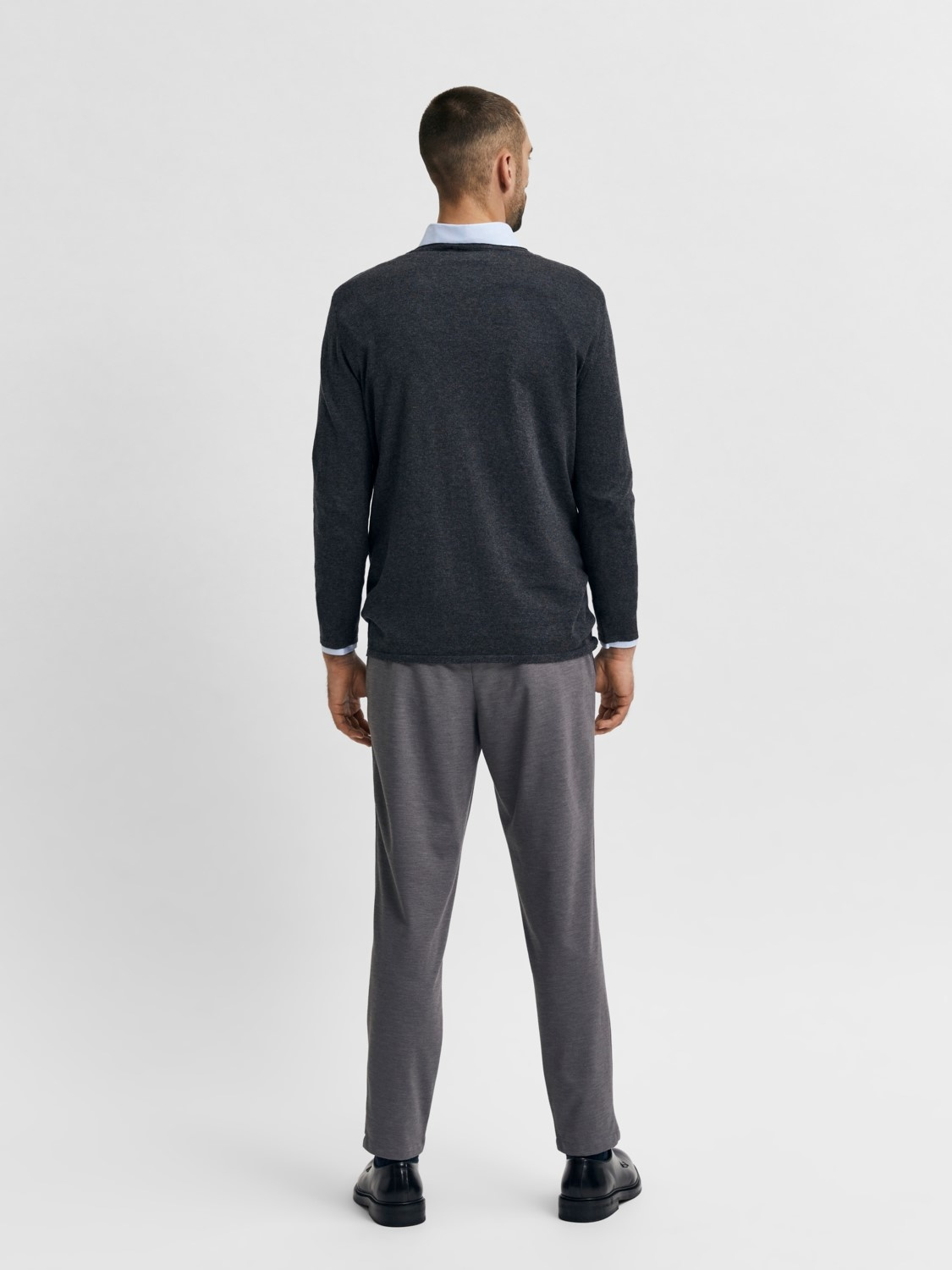 Selected SLHRome Knit Crew Neck Noos