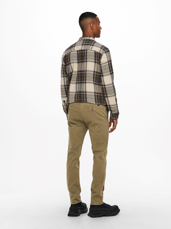 Only & Sons Onspete Slim Twill 9934 Kangaroo Noos