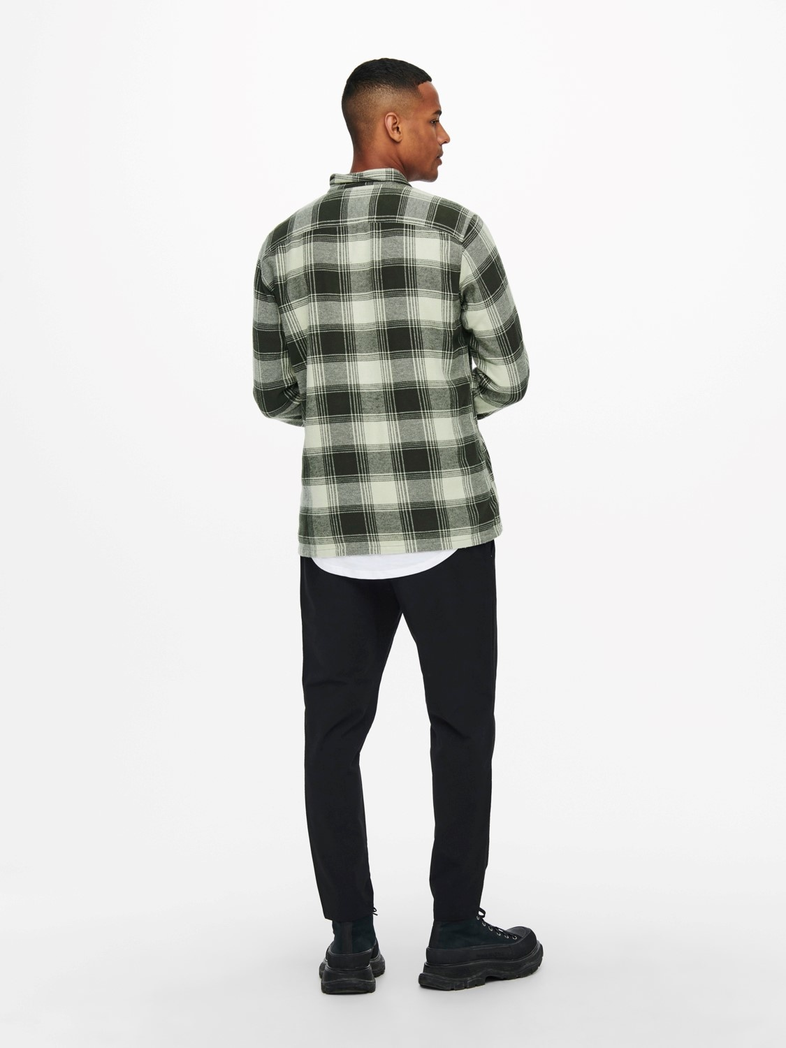 Only & Sons Onsnadal Flannel Check Shirt