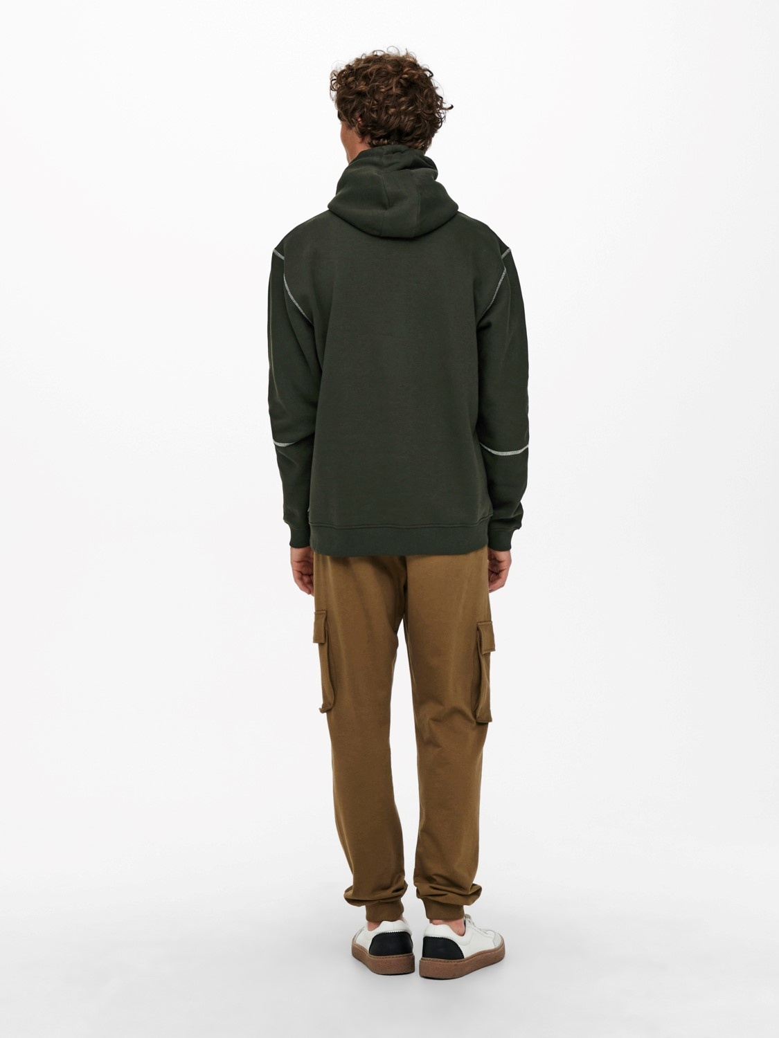 Only & Sons Onsfletcher Life Stitch Hoodie