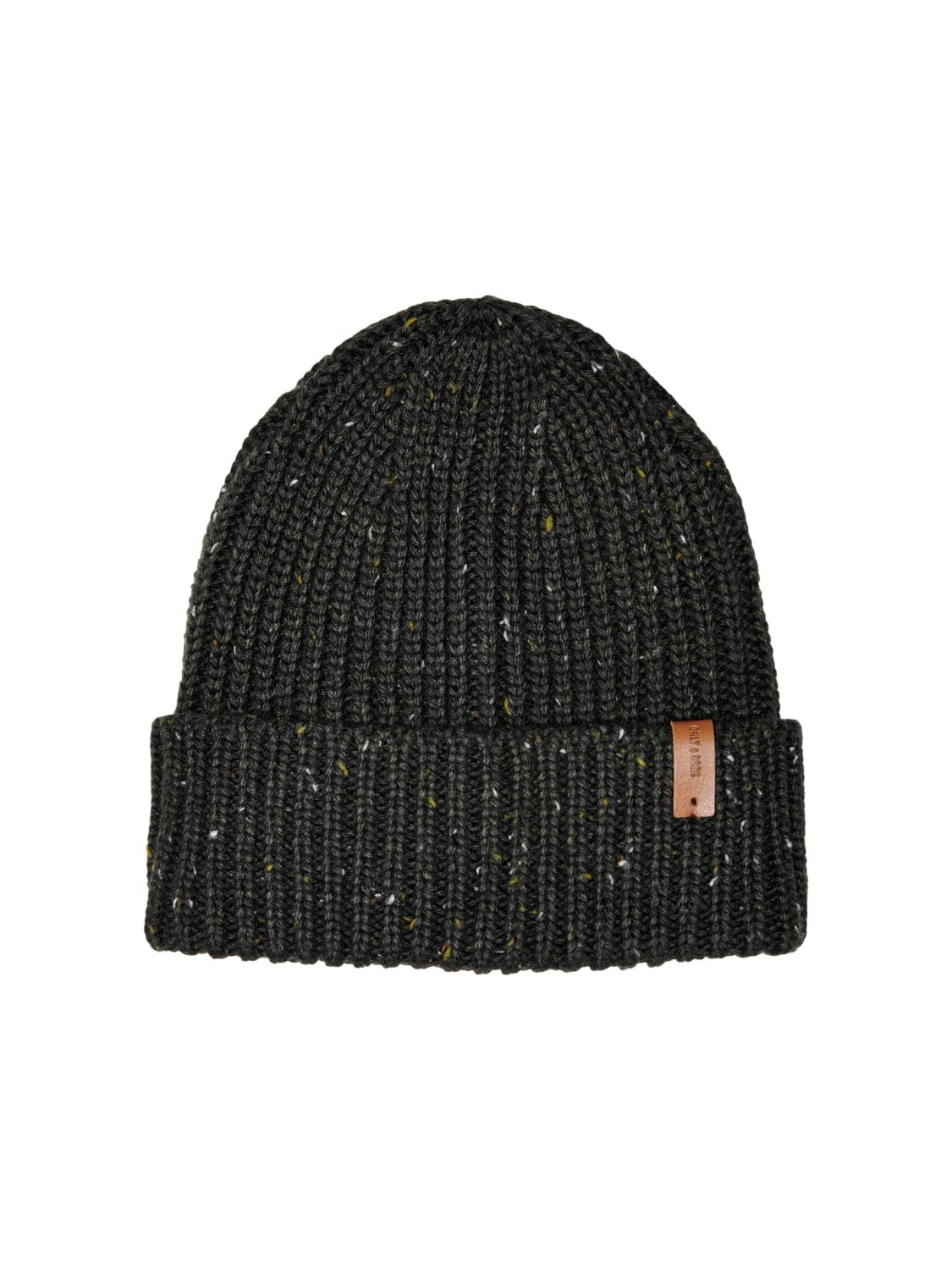 Only & Sons Onsfelix Struc Nap Beanie Peat One Size