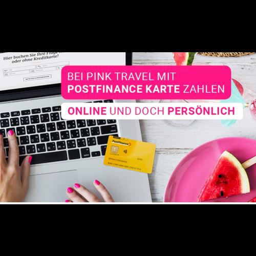 Gutschein Pink Travel, Basel (BS)