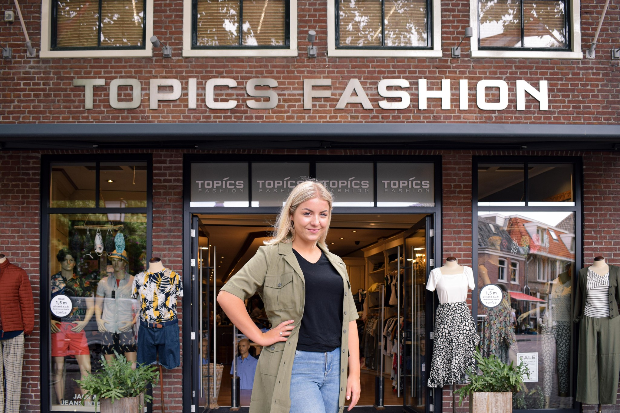 Dominique Jonk voor Topics Fashion