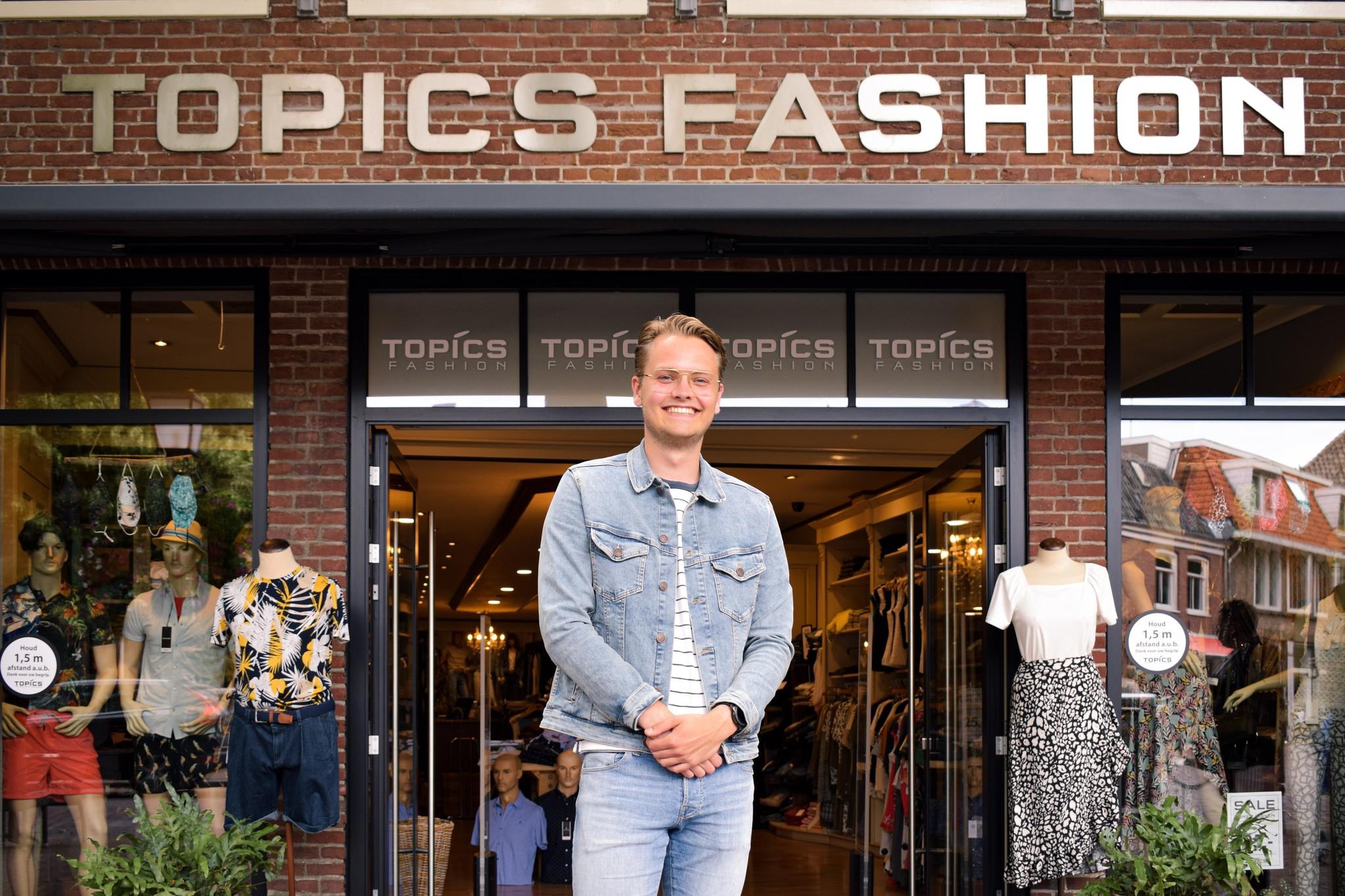 Sjors Lieshout voor Topics Fashion