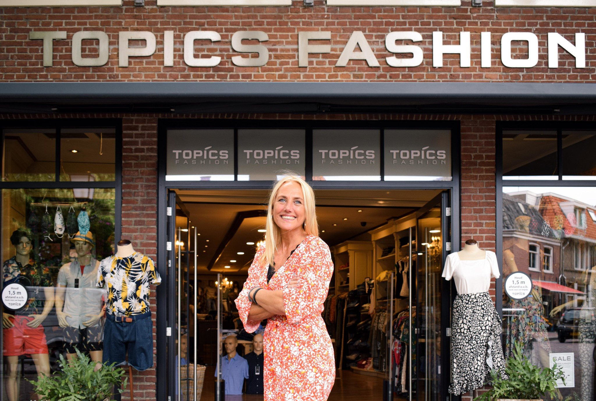 Sandra de Wit voor Topics Fashion