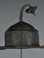 C&S DAVOY DECORATIVE ART S/2 IRON HAT