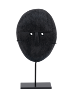 URBAN NATURE CULTURE URBAN NATURE CULTURE OBJECT MANGO WOOD HEAD ON STAND, 21CM