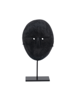 Urban Nature Collection URBAN NATURE CULTURE OBJECT MANGO WOOD HEAD ON STAND, 21CM