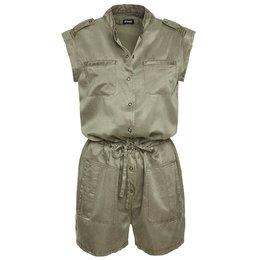 Blauer Short Silk And Cotton Jumpsuit