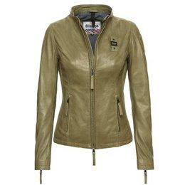 Blauer Hannah Urban Biker Leather Jacket