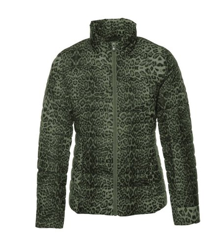 JOTT Jacket Cha Leopard kaki