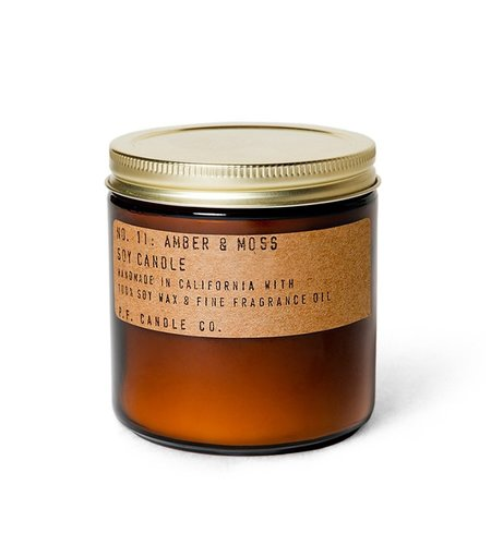 P.F. Candle Co. Candle & Co Amber Moss Large