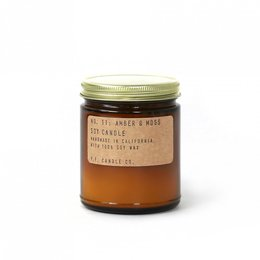 PF. Candle Co. Amber Moss Standard Candle