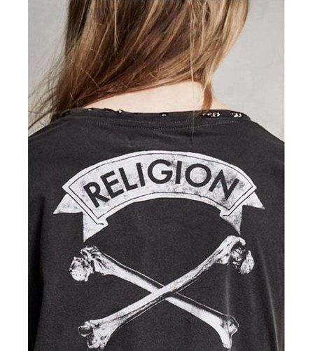 Religion Cartilage Tee Jet Black