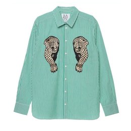 Zoe Karssen Panther Patch Shirt