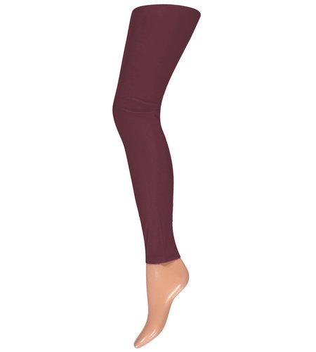 Sarlini Ladies Legging Basic Burgundy