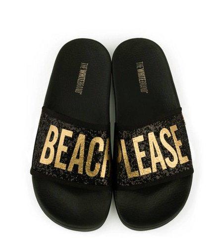 TheWhiteBrand Glitter Beach Please Black