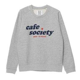 Zoe Karssen Cafe Society Loose Fit Sweat