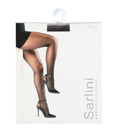 Sarlini Panty 20 Den 2-pack Graphite