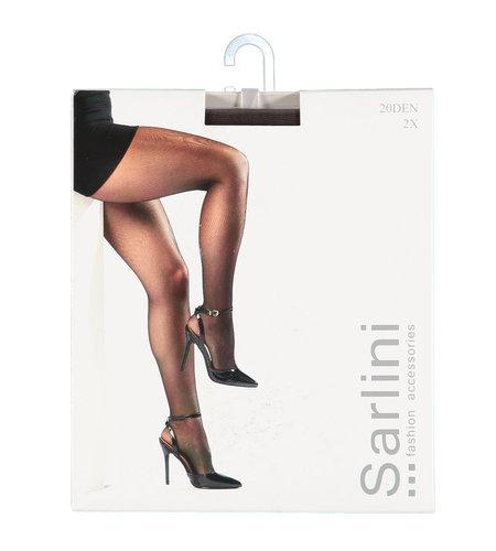 Sarlini Panty 20 Den 2-pack Mokka