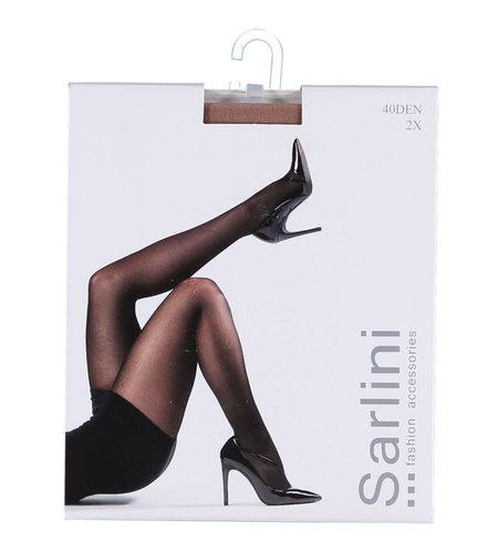 Sarlini Panty 40 Den 2-pack Amande