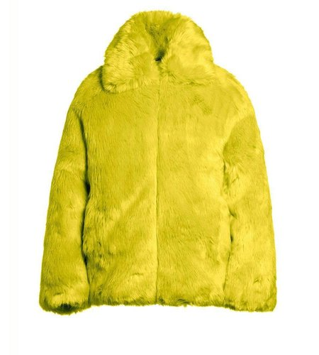 Goldbergh Orso Jacket Acid Yellow