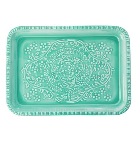 RICE Rectangular Metal Tray