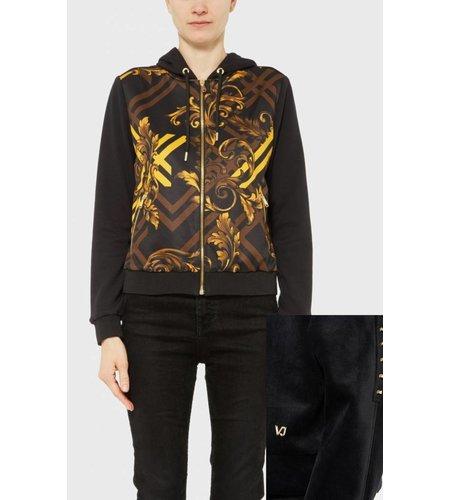 Versace Jeans Light Zip Vest Black