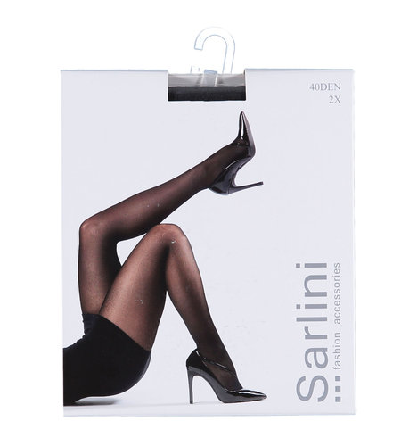 Sarlini Panty 40 Den 2-pack Graphite