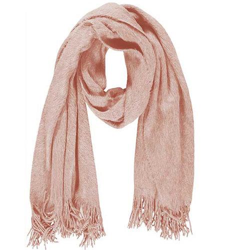Sarlini Ladies Knit Scarf Light Pink