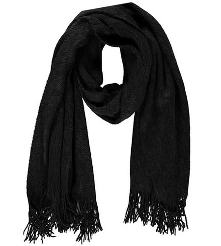 Sarlini Ladies Knit Scarf Black