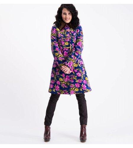 Blutsgeschwister Velvet Garden Coat Persian Poppy