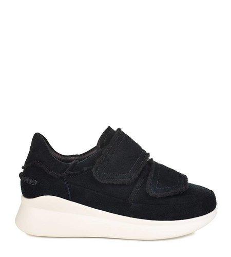 UGG Ashby Spill Seam Sneaker Black