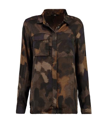 Mason's Camicie Donna Safarishirt Lino