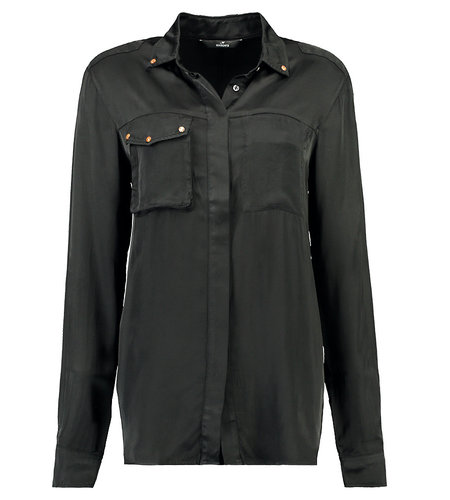 Mason's Camicie Donna Safarishirt Nero